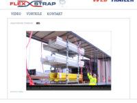 Pfiffiges System von Flexstrap zur Ladungssicherung