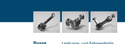 Produktspektrum für Busse als Kompendium im Lemförder-Katalog