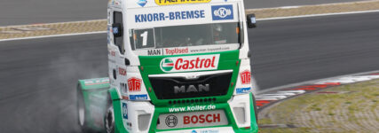 Knorr-Bremse verlängert Truck-Race-Engagement mit Jochen Hahn