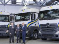 Großauftrag: Spanischer Spediteur bestellt 400 Mercedes-Benz Actros