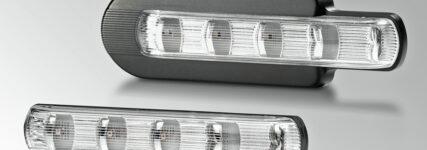 Zusatzblinkleuchte in LED-Technologie von Hella für Nutzfahrzeuge