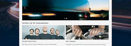 Serviceprogramm für Nutzfahrzeugbetriebe auf www.truckcrew.de