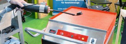 Induktionswärmer von KMWE Werkstatteinrichtung mit breiten Anwendungsspektrum