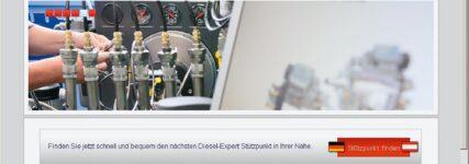 Diesel-Expert repariert Technik von Dieselfahrzeugen
