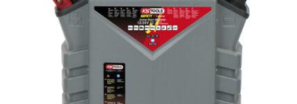 Nutzfahrzeuge sicher fremdstarten mit Booster 'Safety Xtreme' von KS Tools