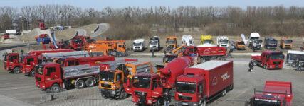 Euro 6-Produktschau auf den MAN-Trucknology-Days in München