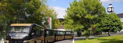 Paul Nutzfahrzeuge schafft Basis für Besucherbahn der Warsteiner-Brauerei