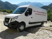 Allradumbau für Nissan NV400 in Zusammenarbeit mit Oberaigner