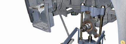Spezialwerkzeug von Klann zum Auspressen der Achsschenkelbolzen