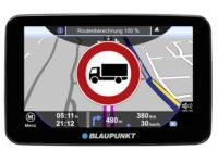 Neue Features im 'Travel-Pilot' von Blaupunkt für den Einsatz in Lkw