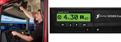 Stoneridge führt neuen digitalen Fahrtenschreiber ein