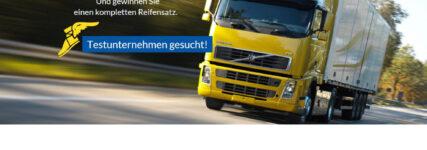 Goodyear startet Praxistest 'Test the MAX' – Lkw-Reifen zu gewinnen