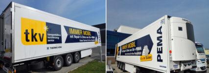 Mobilitätskonzept von tkv und Pema für Kühlfahrzeuge