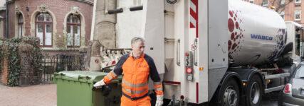 Wabco führt Tail-Guard für Abfallsammelfahrzeuge ein