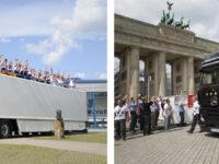 Krone fertigt WM-Liner für Empfang der Nationalmannschaft in Berlin