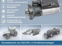 Neuer Nutzfahrzeug-Starter HEF109-L von Bosch