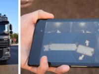 ZF Lenksysteme rangiert Lang-Lkw per Tablet-PC