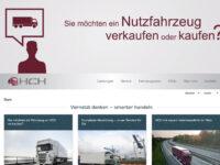 Gebrauchte Nutzfahrzeuge: HCH präsentiert sich mit neuer Website