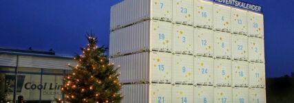 Krone wieder mit XXL-Adventskalender am Standort Werlte