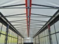 RSAB: Aufblasbarer Luftschlauch verhindert Eis auf LKW-Dach