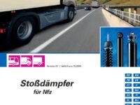 Neu erschienen: ZF Services-Katalog 'Sachs Stoßdämpfer für Nfz'