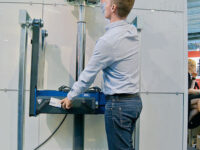 AC Hydraulic A/S stellt teleskopierbaren Grubeheber vor