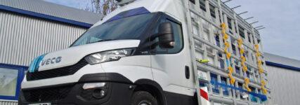 Der 'Neue Daily' von Iveco als Spezial-Transporter für Glas
