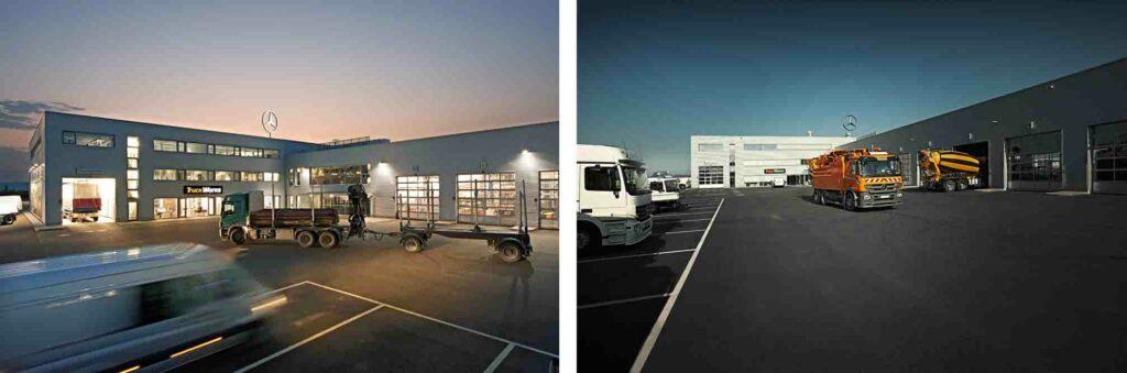 39 truck works 39 von mercedes benz feiert 5 jubil um krafthand truck. Black Bedroom Furniture Sets. Home Design Ideas