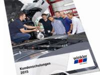 Kundenschulungskalender von Winkler für 2015 erschienen