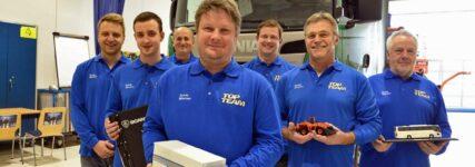 Wettbewerb 'Scania Top Team': Werkstatt aus München auf Platz 1