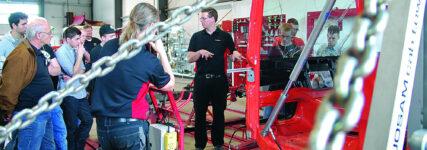 Josam Richttechnik präsentiert neue Schulungsangebote