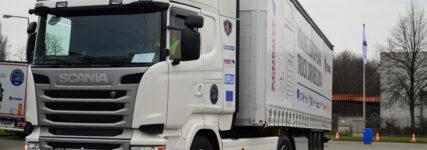 Scania-Fahrerwettbewerb: Sechs Lkw-Fahrer beim Finale