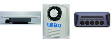 Waeco:  'CoolAir'-Baureihe mit mehreren Möglichkeiten für Splitklimaanlage