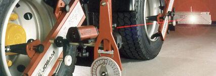 Sparen durch optimale Achsgeometrie und korrekten Reifenfülldruck