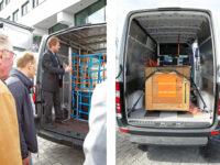 Logistiktag von 3G zum Thema 'Ladungssicherung im Transporter'