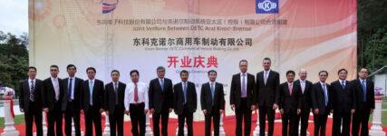 Knorr-Bremse startet neues Nutzfahrzeug-Joint Venture in China