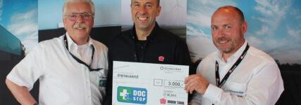 Hilfe für Berufskraftfahrer: UTA unterstützt DocStop