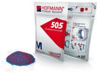 Räder wuchten ohne Gerät mit 'Wuchtpulver 505' von Hofmann Power Weight