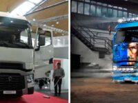 Renault Trucks mit Sondermodell und Showtruck auf der Nufam in Karlsruhe