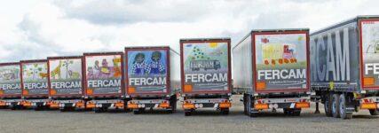 Fercam ordert über 90 Auflieger 'Cargo Rail' von Kögel