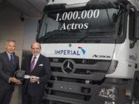 Ein Millionster Actros: Jubiläum im Werk Wörth von Mercedes-Benz