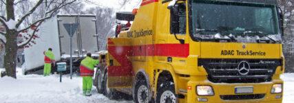 Winter-Check: Tipps für die kälteren Tage vom ADAC-Truck-Service