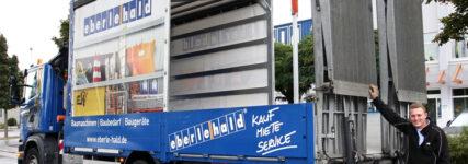 Baumaschinenpritsche: Eberle-Hald bringt Eigenentwicklung auf den Markt