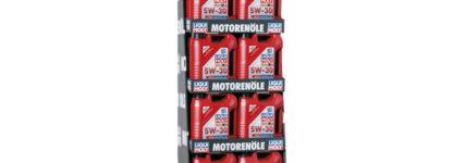 Liqui Moly: Neue Aufsteller für Truck-Nachfüllöle 5W-30 und 10W-40