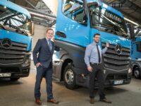 Meilenstein für Mercedes-Benz Lkw und das Werk Wörth
