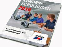 Winkler: Kundenschulungskalender 2016 erschienen