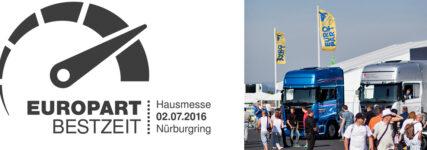 Hausmesse: Europart stellt am 2. Juli am Nürburgring aus