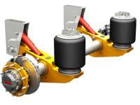 Hydraulisch angetriebene Trailer-Achse von SAF-Holland