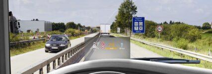 IAA Nutzfahrzeuge: Continental zeigt digitale Head-up-Displays für Lkw