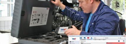 Update für das Mehrmarkendiagnosesystem 'W.Easy+' von Wabcowürth